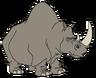 Joe the White Rhinoceros