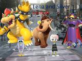 Lena and silver the birds (2020)