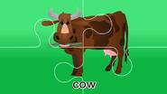 Nursery Tracks Cow