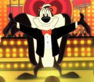 Pepe singing