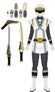 White Chi Force Ranger