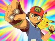 Ash gets the Balance Badge