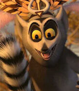 King Julien in Madagascar Escape 2 Africa