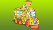 The Magic School Bus Train Bus