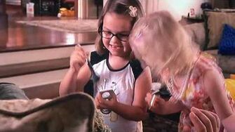 Hailey Noelle Johnson and Dakota & Elle Fanning - I Am A Cute One-0