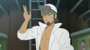 Professor Kukui Anime