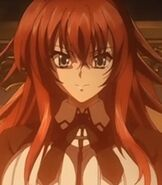 Rias Gremory in Highschool DXD