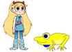 Star meets Indian Bullfrog