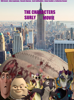 The Characters Surly Movie poster