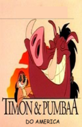 Timon and Pumbaa Do Ameirca