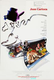 Who Framed Jose Carioca Poster