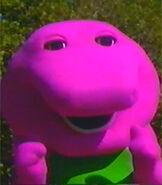Barney in Barney's Great Adventure The Movie