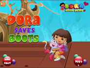 Dora Saves Boots Logo