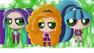 The Powerpuff Dazzlings