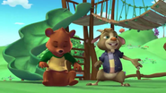 Billy and Bear