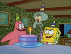 Spongebob and patrick birthday cake 2
