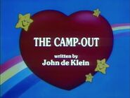 The Camp Out (Title Card)