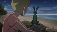 Beast Boy as a Rabbit