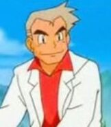 Professor Oak in Pokemon the Movie 2000