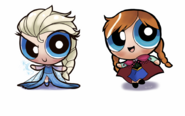 Anna and Elsa PPG style