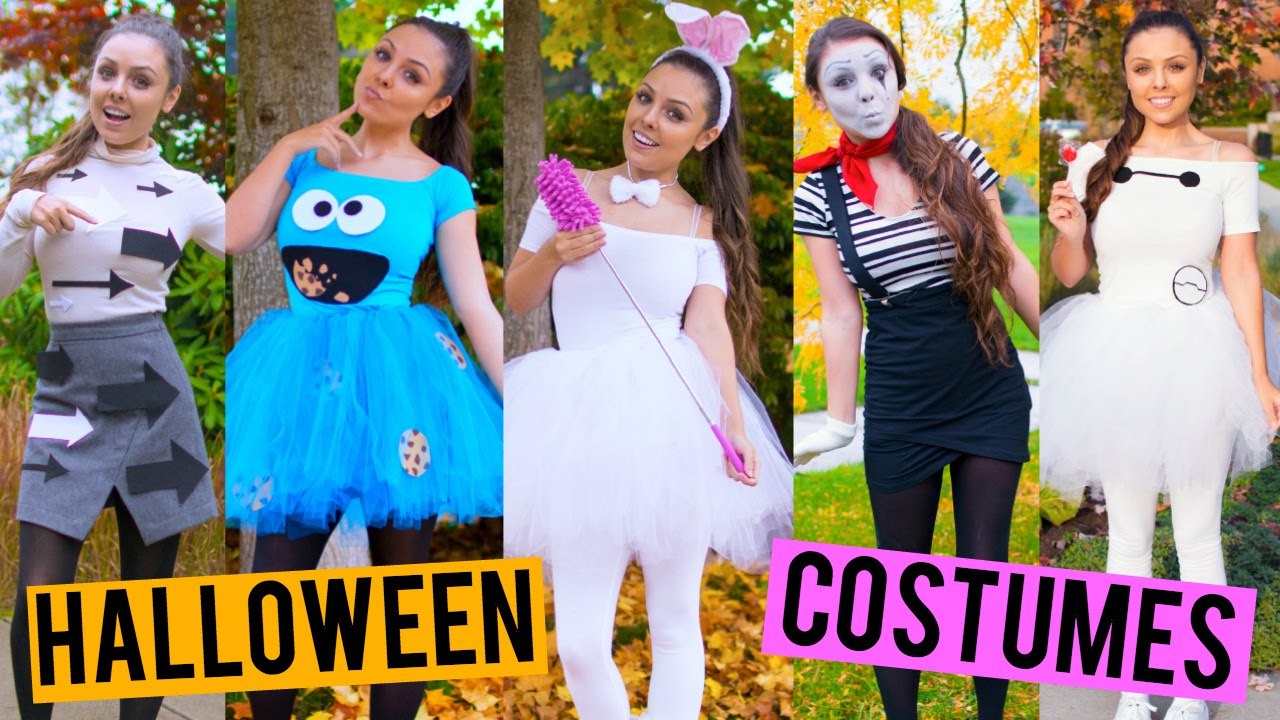 here are some really easy last minute diy halloween costumes i wanted to show you guys a few costume ideas for halloween that you can customize to pull
