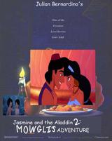 Jasmine and the Aladdin 2: Mowgli's Adventure (Julian Bernardino Style)