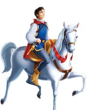 Prince Snow White Horse Pose