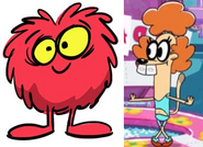 Red Noog and Pam love together