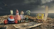 Spongebob and his friends are lost in island