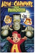 Alvin and his sons meet frankenstein vhs cover