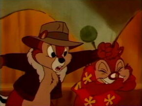 Chip Punches Dale