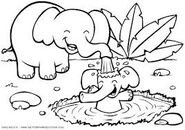 Crayola COloring Pages Elephants