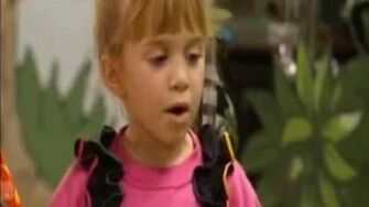 Cute Michelle Tanner & Her Friends Clip