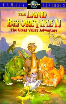 The Land Before Time 2 The Great Valley Adventure English Poster