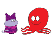 Chowder meets Giant Pacific Octopus