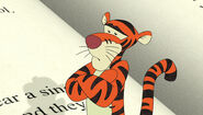 Frustrated tigger