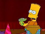Mr. Bart looks worried.