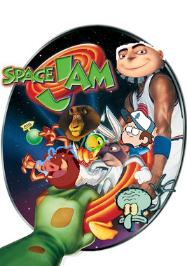 Space jam jimmyandfriends poster