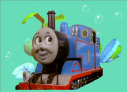 Thomas in the Whale Bay water part 1.