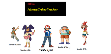 Code name pokemon trainer next Door