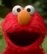 Elmo in Dinosaurs