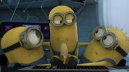 Minions share banana