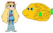 Star meets Porcupine Fish