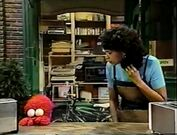 Elmo is upset since he couldn't show Maria his silly wiggle thing