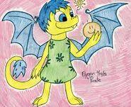 Joy as a dragon