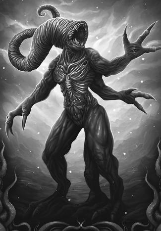 Nyarlathotep, el dios que traerá locura a la Tierra.