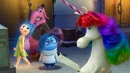 Sadness meets rainbow unicorn