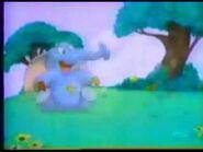 Butterflu Blowing Elephants