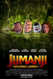 Jumanji Welcome to the Jungle (LAVGP) Poster