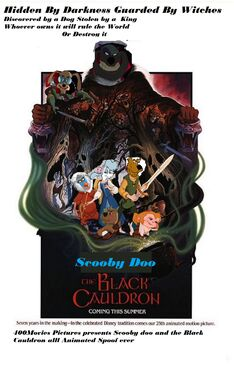 Scooby doo and the black cauldron